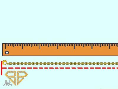 اندازه-گیری-گردنبند-از-طریق-خط-کش