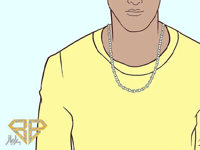 انواع-سایز-گردنبند-برای-آقایان